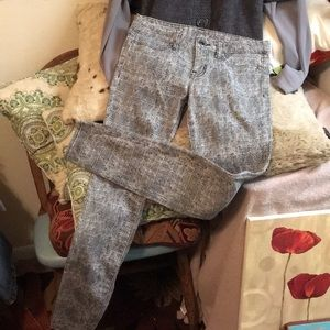 New Hurley Tweed Look Jean Feel Soft and Comfy 27!